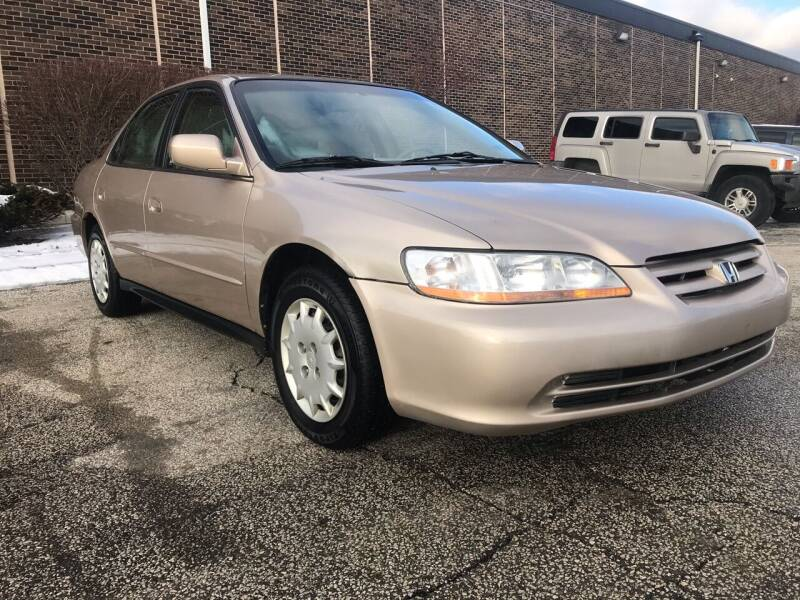 2001 Honda Accord for sale at Classic Motor Group in Cleveland OH