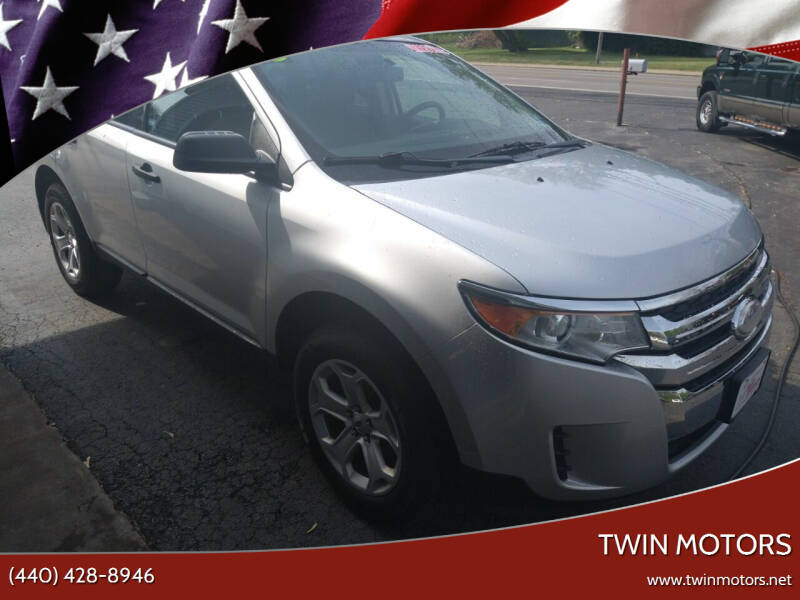 2013 Ford Edge for sale at TWIN MOTORS in Madison OH