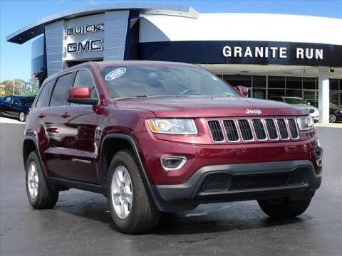 2016 Jeep Grand Cherokee for sale at GRANITE RUN PRE OWNED CAR AND TRUCK OUTLET in Media PA