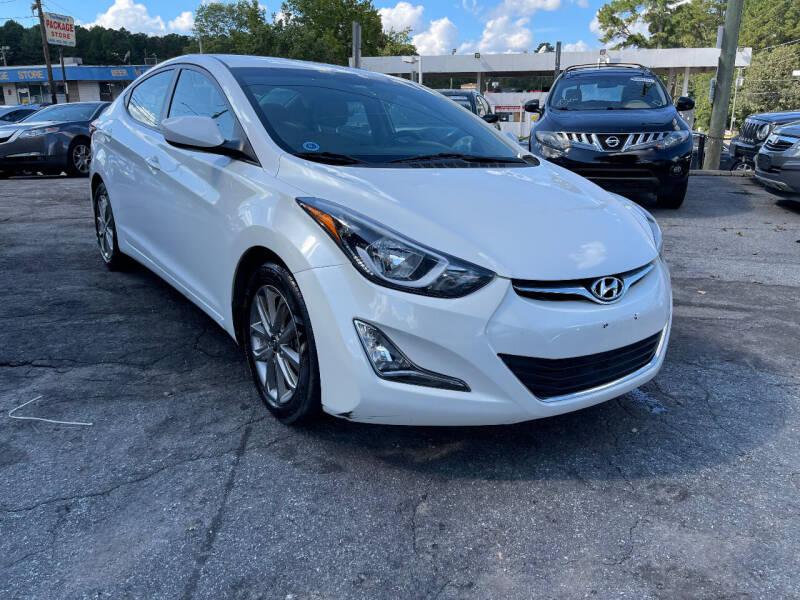 2014 Hyundai Elantra for sale at TEAM AUTO SALES in Atlanta GA
