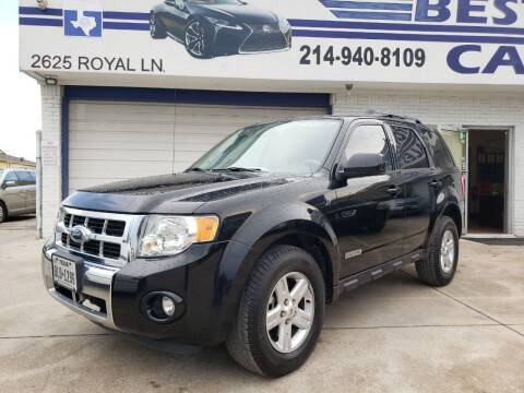 2008 Ford Escape Hybrid for sale at Best Royal Car Sales in Dallas TX