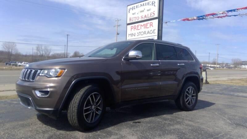 2017 Jeep Grand Cherokee for sale at Premier Auto Sales Inc. in Big Rapids MI