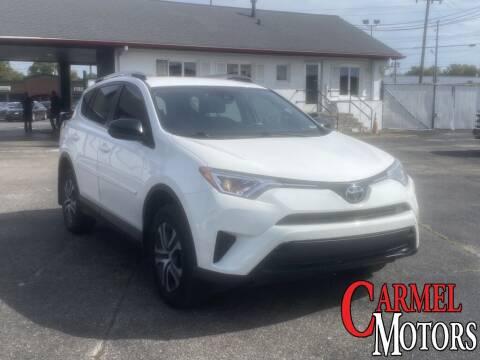 2017 Toyota RAV4 for sale at Carmel Motors in Indianapolis IN