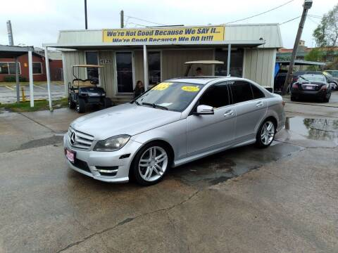 2012 Mercedes-Benz C-Class for sale at Taylor Trading Co in Beaumont TX