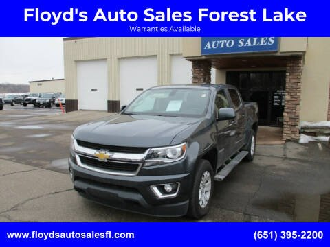 2016 Chevrolet Colorado for sale at Floyd's Auto Sales Forest Lake in Forest Lake MN