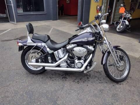 2003 Harley-Davidson FXSTSI for sale at Goodfella's  Motor Company in Tacoma WA