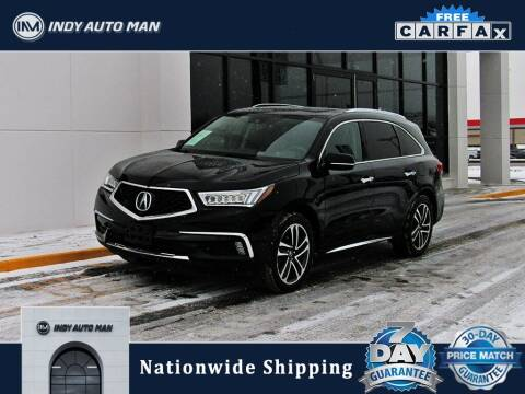 2017 Acura MDX for sale at INDY AUTO MAN in Indianapolis IN