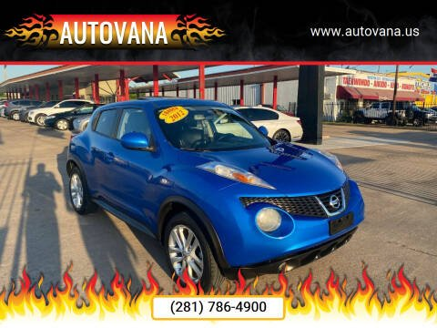 2012 Nissan JUKE for sale at AutoVana in Humble TX