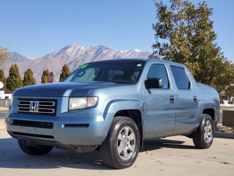2006 Honda Ridgeline for sale at FRESH TREAD AUTO LLC in Springville UT