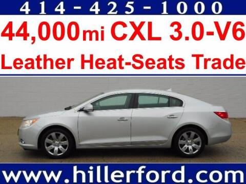 2010 Buick LaCrosse for sale at HILLER FORD INC in Franklin WI