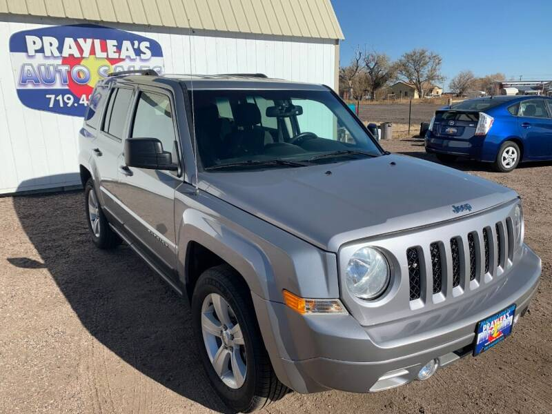 2017 Jeep Patriot for sale at Praylea's Auto Sales in Peyton CO