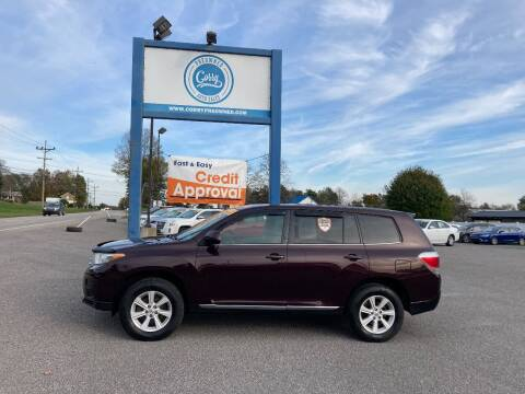 2013 Toyota Highlander for sale at Corry Pre Owned Auto Sales in Corry PA