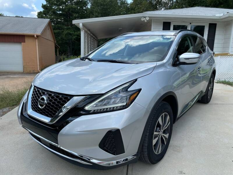 2020 Nissan Murano for sale at Efficiency Auto Buyers in Milton GA