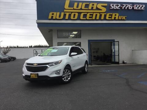2019 Chevrolet Equinox for sale at Lucas Auto Center in South Gate CA