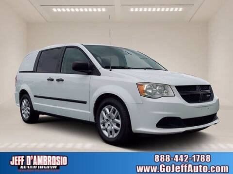 2015 RAM C/V for sale at Jeff D'Ambrosio Auto Group in Downingtown PA