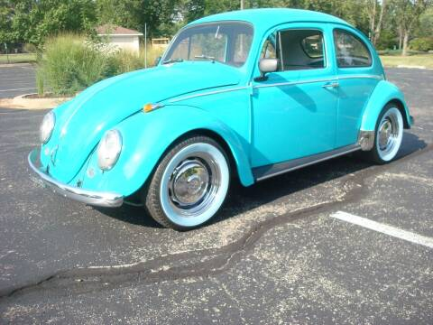 1966 Volkswagen Beetle for sale at Naperville Auto Haus Classic Cars in Naperville IL