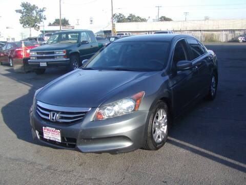 2012 Honda Accord for sale at Primo Auto Sales in Merced CA