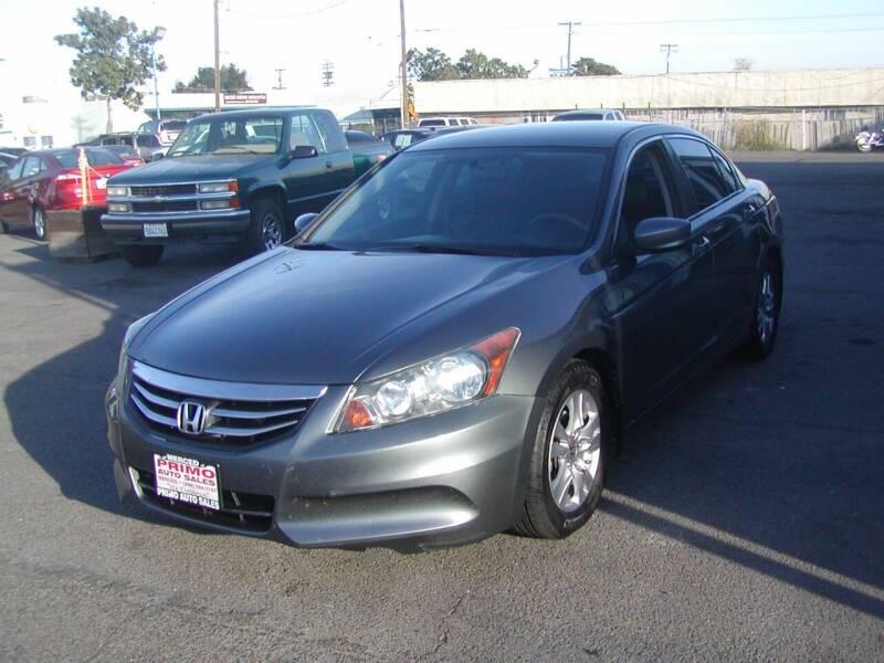 2012 Honda Accord for sale at Primo Auto Sales in Merced CA