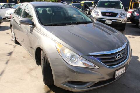 2013 Hyundai Sonata for sale at Good Vibes Auto Sales in North Hollywood CA