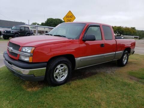 2003 Chevrolet Silverado 1500 for sale at Pioneer Auto in Ponca City OK