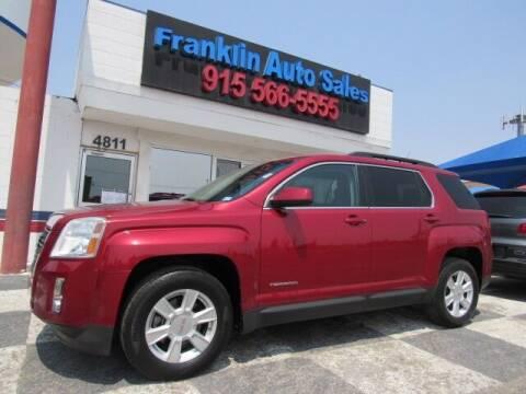 2013 GMC Terrain for sale at Franklin Auto Sales in El Paso TX