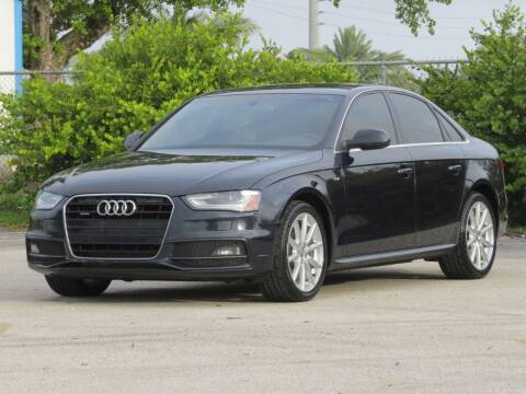 2014 Audi A4 for sale at DK Auto Sales in Hollywood FL
