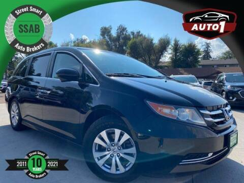 2015 Honda Odyssey for sale at Street Smart Auto Brokers in Colorado Springs CO