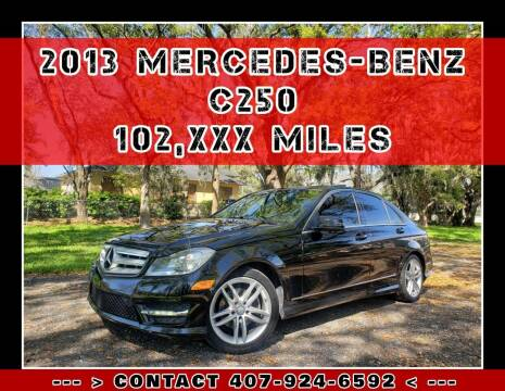 2013 Mercedes-Benz C-Class for sale at AFFORDABLE ONE LLC in Orlando FL