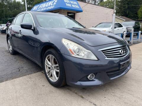 2013 Infiniti G37 Sedan for sale at Great Lakes Auto House in Midlothian IL