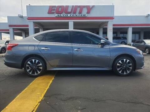 2018 Nissan Sentra for sale at EQUITY AUTO CENTER in Phoenix AZ