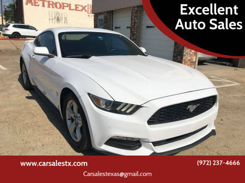 2016 Ford Mustang for sale at Excellent Auto Sales in Grand Prairie TX