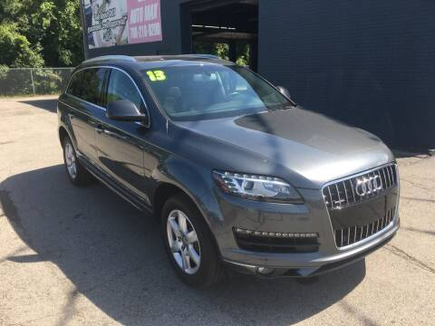 2013 Audi Q7 for sale at ROUTE 6 AUTOMAX in Markham IL