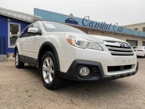 2014 Subaru Outback for sale at Capital City Automotive in Austin TX