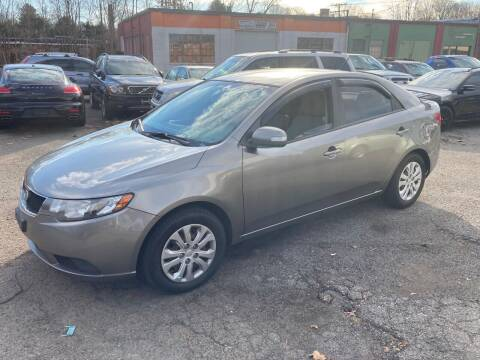 2010 Kia Forte for sale at ENFIELD STREET AUTO SALES in Enfield CT