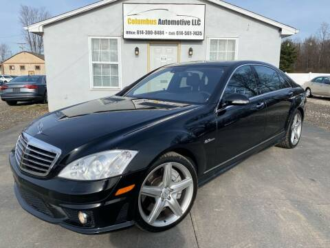 2008 Mercedes-Benz S-Class for sale at COLUMBUS AUTOMOTIVE in Reynoldsburg OH