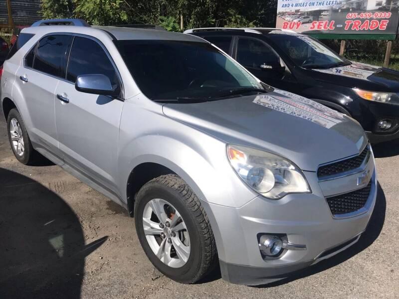 2011 Chevrolet Equinox for sale at Tennessee Auto Brokers LLC in Murfreesboro TN
