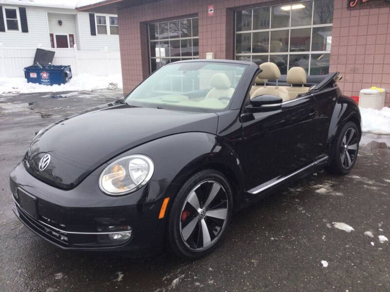 2013 Volkswagen Beetle Convertible for sale at Pat's Auto Sales, Inc. in West Springfield MA