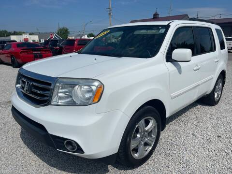 2013 Honda Pilot for sale at Davidson Auto Deals in Syracuse IN