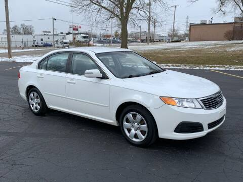 2010 Kia Optima for sale at Dittmar Auto Dealer LLC in Dayton OH