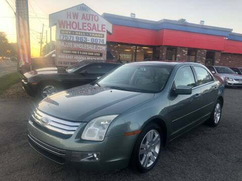 2006 Ford Fusion for sale at HW Auto Wholesale in Norfolk VA