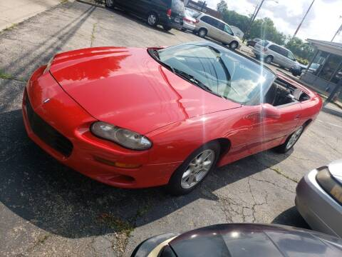 2000 Chevrolet Camaro for sale at Sportscar Group INC in Moraine OH