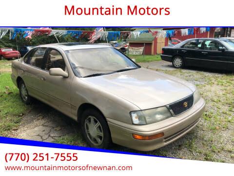 1995 Toyota Avalon for sale at Mountain Motors in Newnan GA