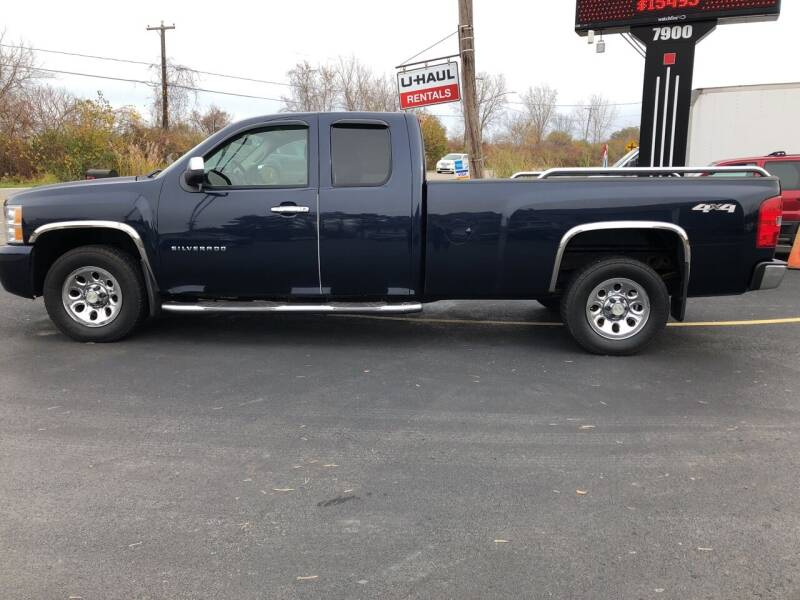 2011 Chevrolet Silverado 1500 for sale at GASPORT AUTO SALES AND SERVICE,INC in Gasport NY