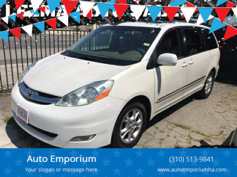 2006 Toyota Sienna for sale at Auto Emporium in Wilmington CA