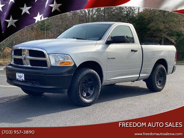 2009 Dodge Ram Pickup 1500 for sale at Freedom Auto Sales in Chantilly VA