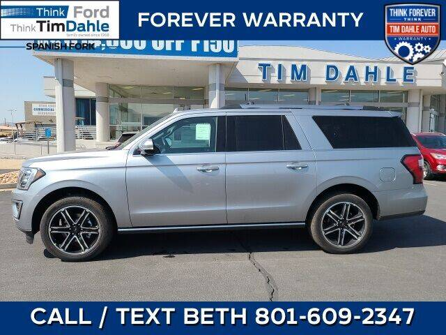 2021 Ford Expedition MAX for sale in Spanish Fork, UT