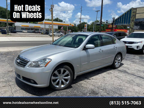 2006 Infiniti M35 for sale at Hot Deals On Wheels in Tampa FL