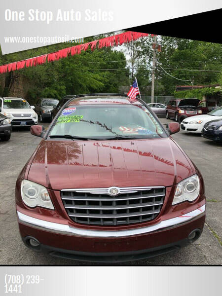 2007 Chrysler Pacifica for sale at One Stop Auto Sales in Midlothian IL