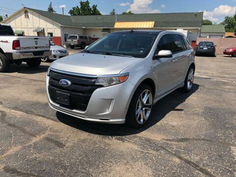 2012 Ford Edge for sale at Dean's Auto Sales in Flint MI