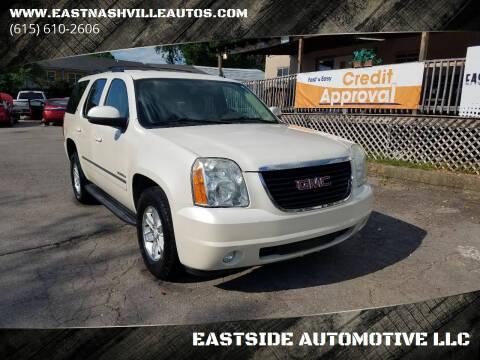 2012 GMC Yukon for sale at EASTSIDE AUTOMOTIVE LLC in Nashville TN